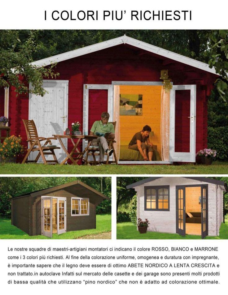 17 migliori idee su casette da giardino su pinterest - Garage da giardino ...