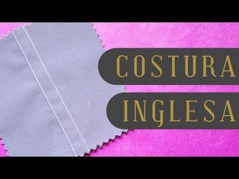 Tutorial: Costura inglesa - PARA Q QUEDE BIEN PROLIJO POR EL INTERIOR!