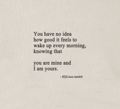 How I used to feel for him.... But he was never really mine as it turns out- his heart still belongs to his mommy