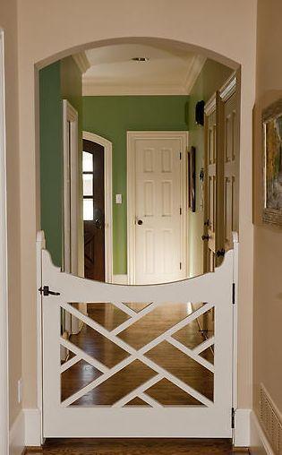 Love this door gate!