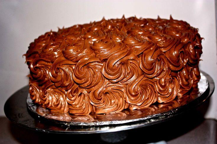 Jubileumi torta – különleges piskóta, bársonyos kakaós krém!