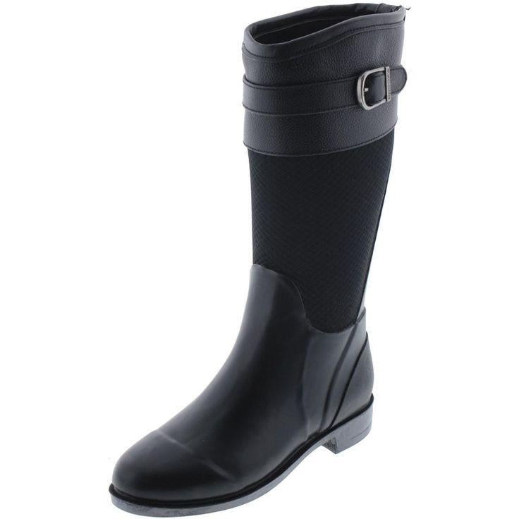 Chooka Womens Bolero Round Toe Belted Mid-Calf Boots