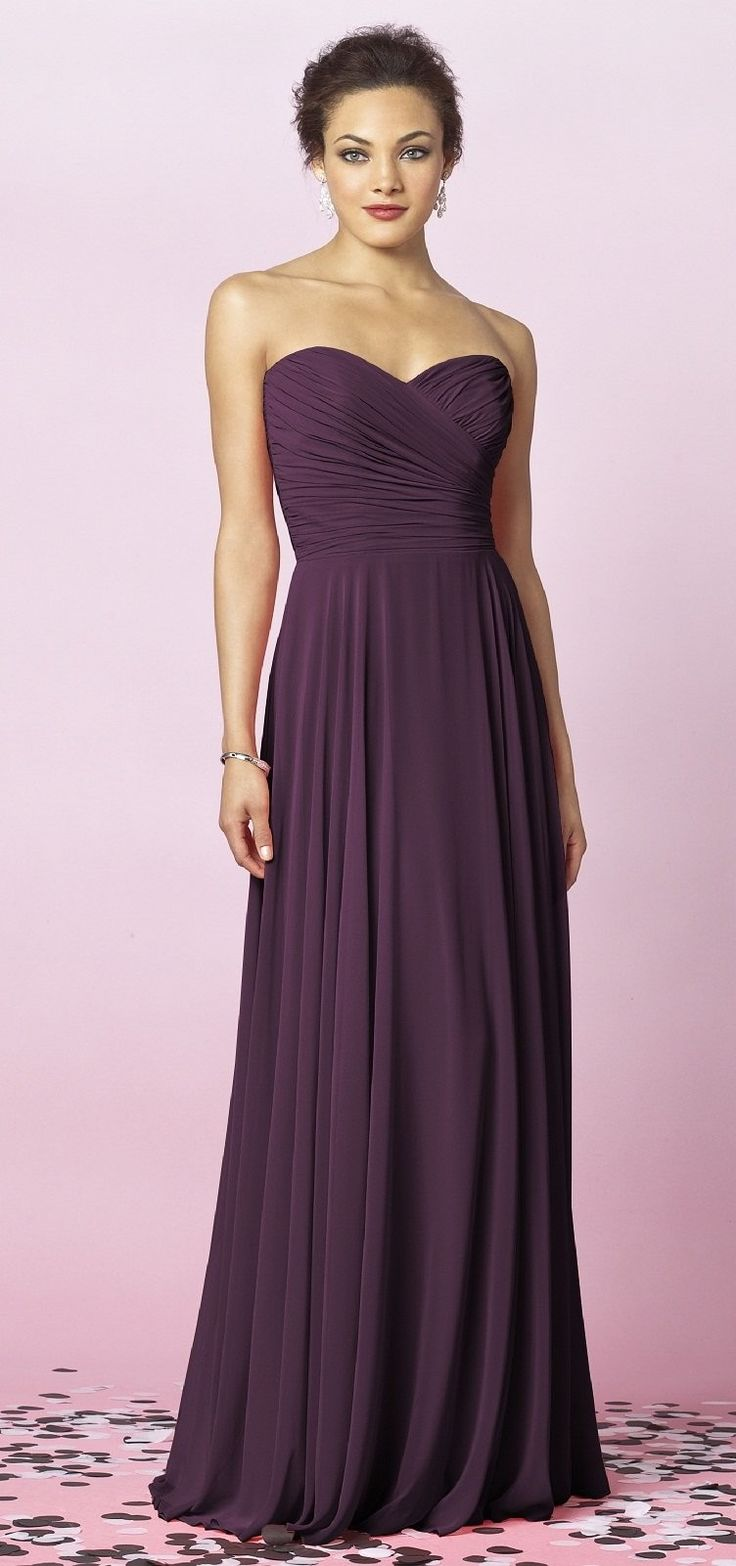 139 best Bridesmaid Dresses images on Pinterest | Evening gowns ...