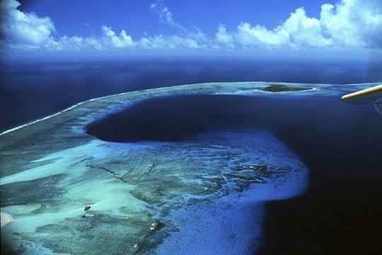 L'atoll de Bikini