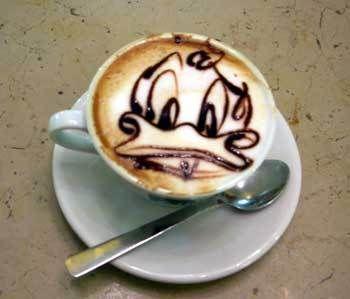 Humor: Cappuccino kunst