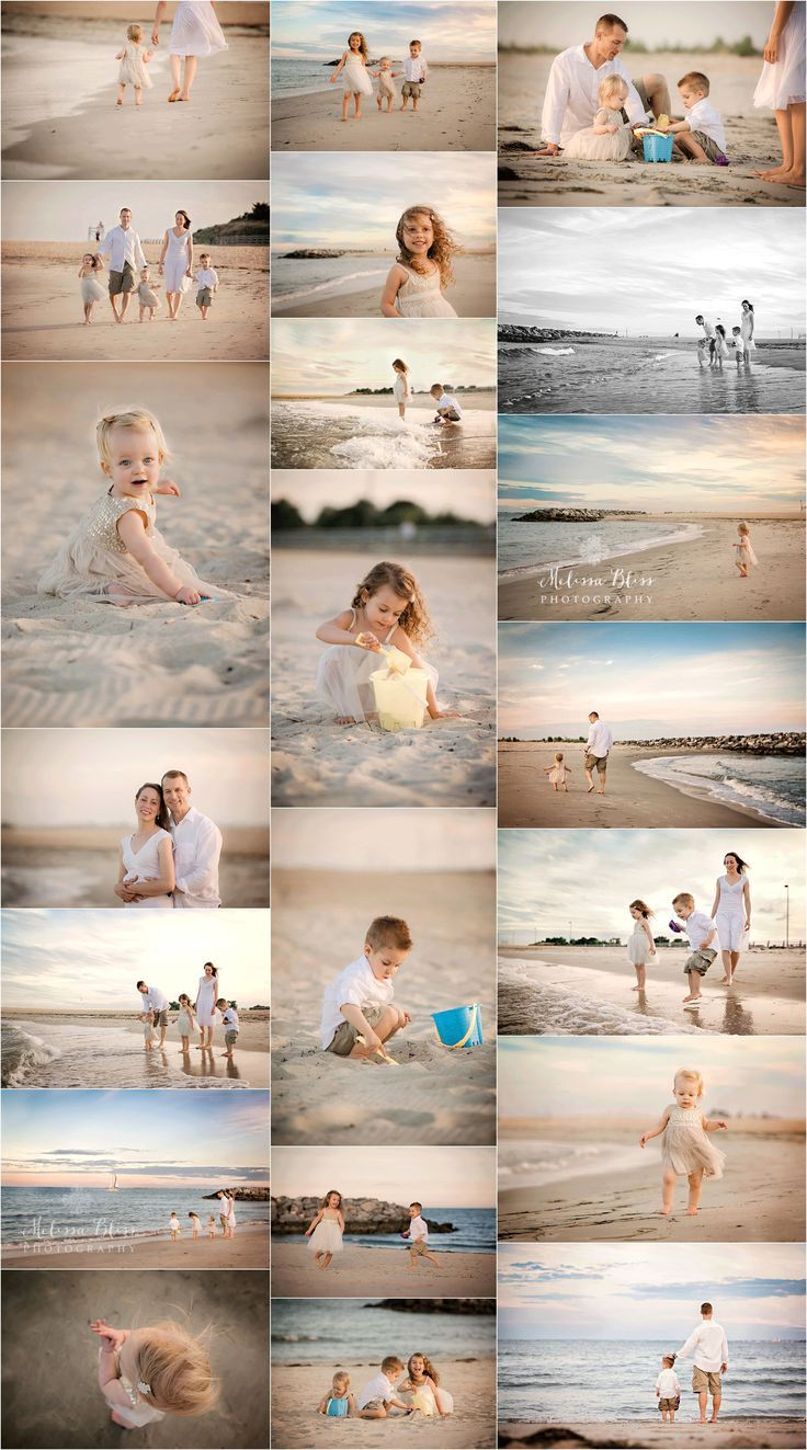 Best Beach Photography : family portrait ideas, family poses, family photo session, melissa bliss photogr… – Angela Martin