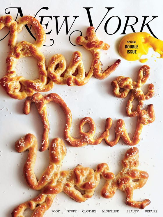 Delicious baked typography