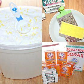 yourcharmedlife: DIY Homemade Laundry Soap