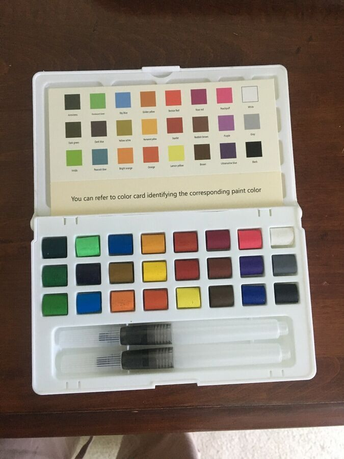 Nwot Artistrove 24 Piece Umiko Watercolor Supply Set Ad Ad