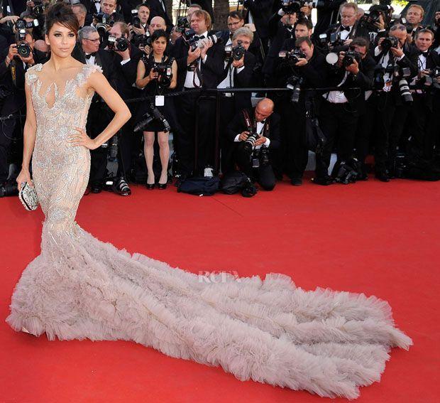 2012 Cannes Film Festival Day 1 - Eva Longoria in Marchesa