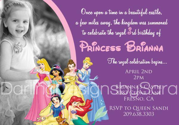 Psd Ai Free Premium Templates Princess Invitations Princess Party Invitations Disney Invitations