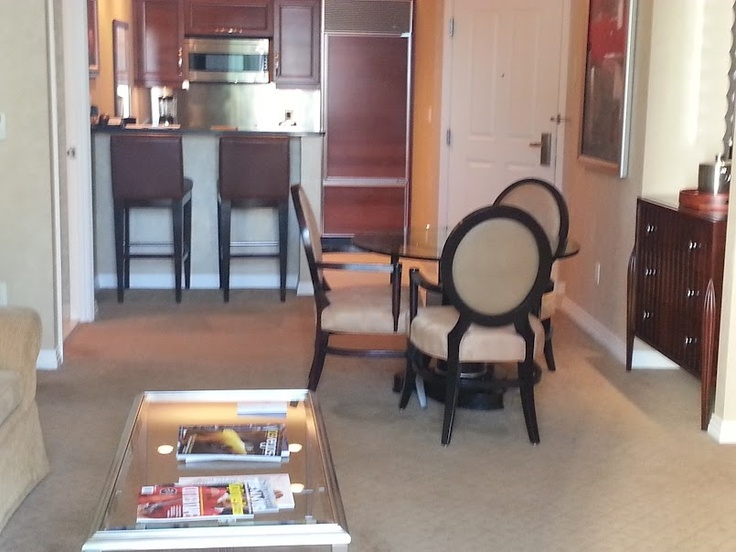1 bedroom suite at the MGM Signature Suites in Las Vegas.