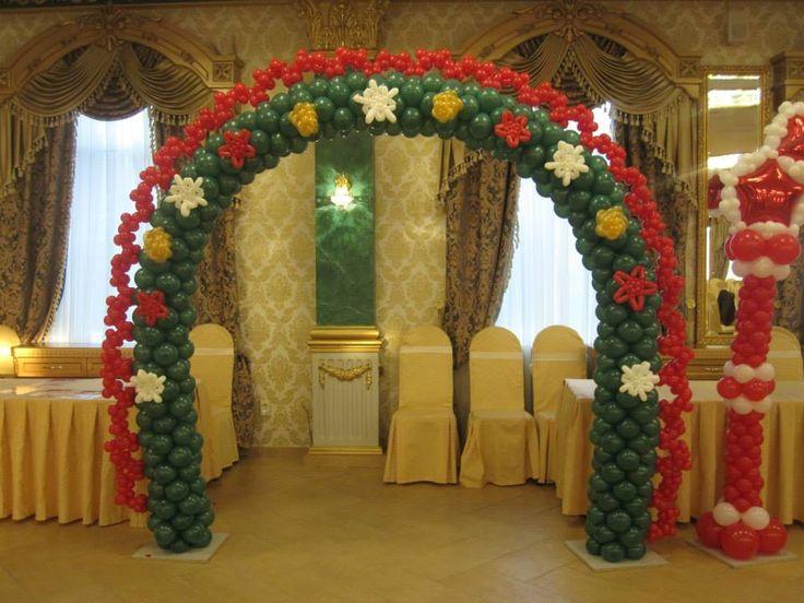 24 best images about decoraciones con globos para navidad on pinterest christmas trees - Decoraciones para navidad ...