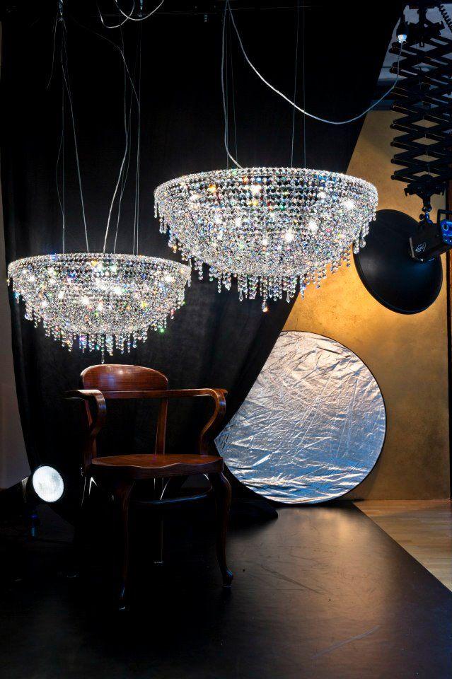 Iceberg+ crystal chandeliers #Manooi #Chandelier #CrystalChandelier #Design #Lighting #Iceberg #luxury #furniture