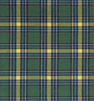 Alberta TartanAlberta Tartan  The colours represent the following: ◾Green - Alberta's forests  ◾Gold - Alberta's wheat fields  ◾Blue - Alberta's clear skies and sparkling lakes  ◾Pink - Alberta's wild rose  ◾Black - Alberta's coal and petroleum.   (adopted 1961 due to the efforts of the Edmonton Rehabilitation Society for the Handicapped, now Goodwill Industries).
