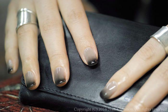 NAIL-COMMON: [黒]gradation nail
