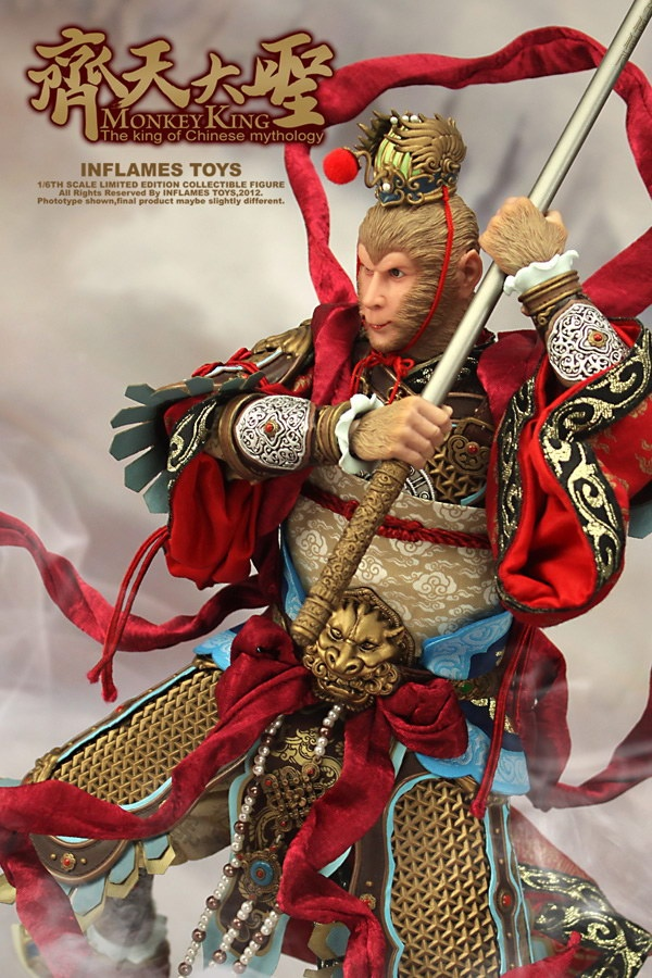New from Inflames Toys-齊天大圣 The monkey king limited edition action figure collectible