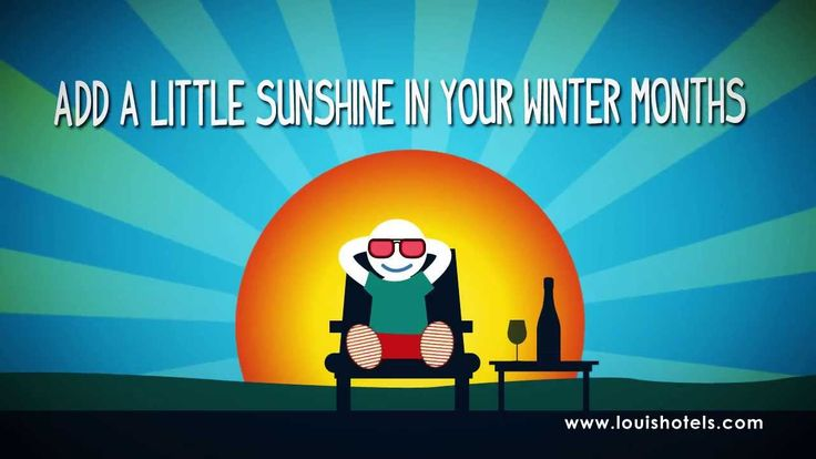Had enough bad weather? Add a little sunshine in your winter months! Great winter deals 2013 at Louis Hotels - http://www.louishotels.com