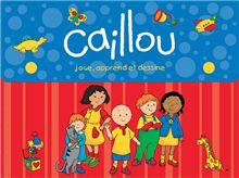 Valisette Caillou joue, apprend et dessine | Boutique Goélette