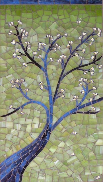 Sonia's Tree by cbmosaics - Christine Brallier, via Flickr