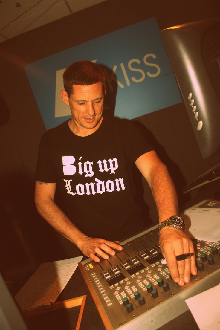 Jez Welham wears B-side Big Up London Tee