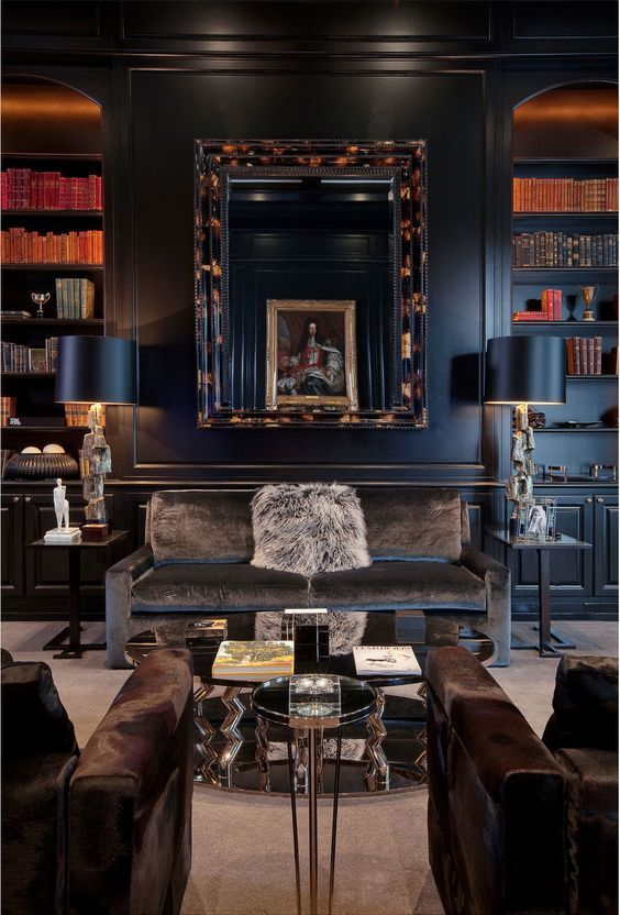 Posh home office designs this year || Get into in one of many finest pieces in your house and follow the hottest home interior trends || #nicedesign #inspirationalideas #officeroom || Check it out: http://homeinspirationideas.net/category/room-inspiration-ideas/home-office