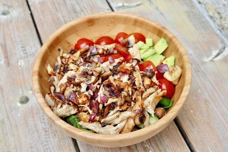 Glutenfree salad bowl