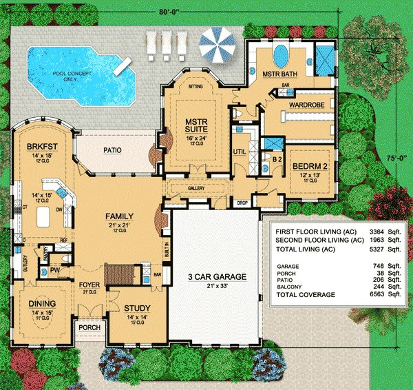 26 best 80x80 images on Pinterest Floor plans, Dream home plans - best of blueprint country house