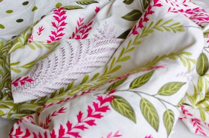 Botanica by Ontario Fabrics! #botanica #ontariofabrics #homedecor #interiordesign #rosequartz #greenery #devor #style #weavingemotions #ontario #fabrics