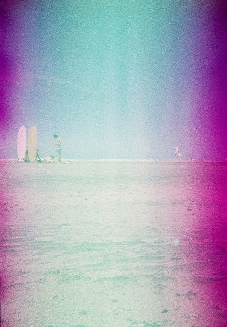 Spot. Taken using a Blackbird, Fly camera loaded with Konica Centuria Chrome 200 (expired) film. #lomo #lomography #zambales #pink #beach #weekend #analogue #analog #film #sea #sun #october #2011 #surf #surfing #surfer #philippines #pilipinas #travel
