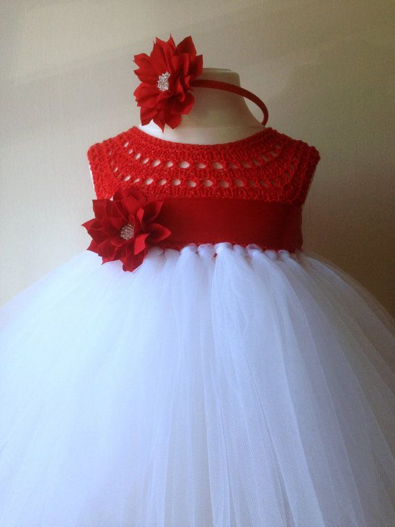 Hey, I found this really awesome Etsy listing at https://www.etsy.com/listing/205178960/flower-girl-dress-christmas-tutu-dress