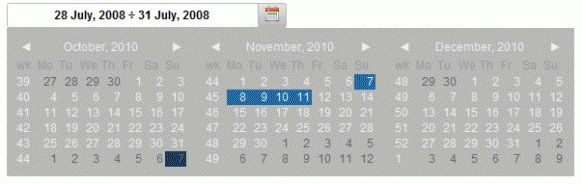 14 Best and Useful Calendar Date Picker Plugin