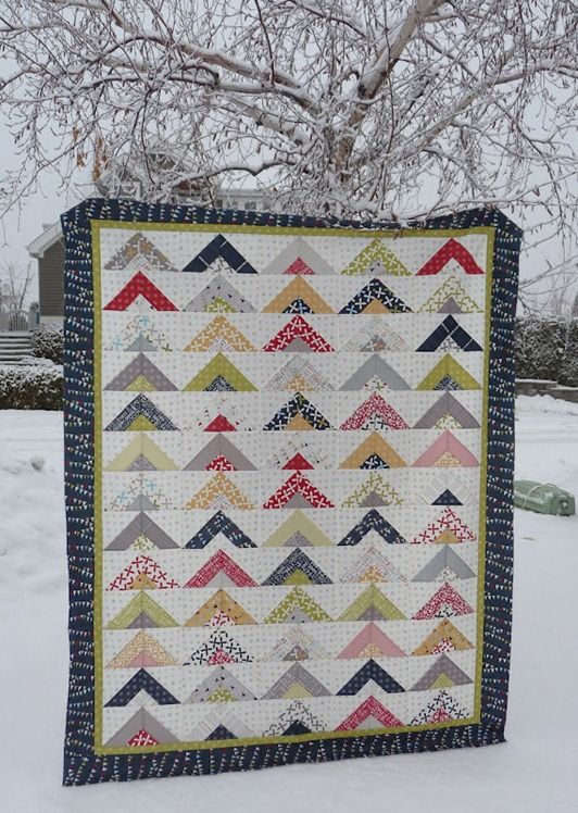 Sweetwater fabric sighting. Modern quilt.