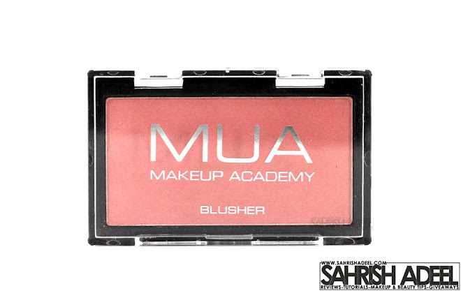Blusher in 'Shade 2' by MUA Makeup Academy