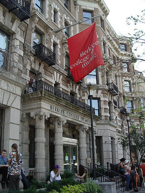 Berklee College of Music, Boston - spent a week here studying guitar. Hoping to go back one day
