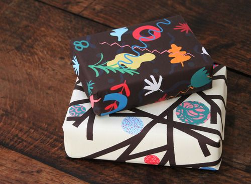 Wrap magazine | New Products // Our First Wrapping Paper Collection