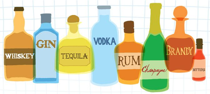 Drinks Database website. Put in the ingredients you have and see what recipes for different alcoholic drinks come up!