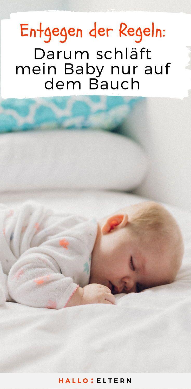 Warum Mein Baby Immer Auf Dem Bauch Schlafen Darf Leben Mit Baby