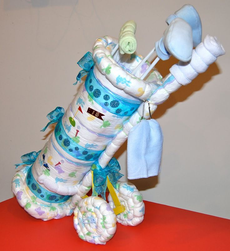 106 best images about baby shower gifts on pinterest for Diaper crafts for baby shower