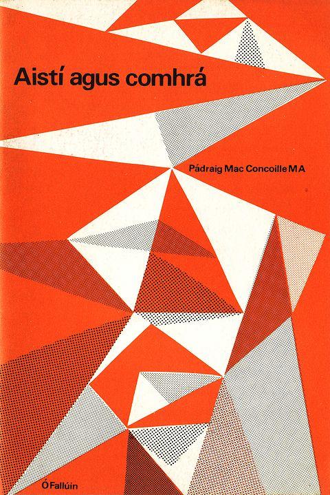 aistí agus comhrá by pádraig mac concoille (cover design by cor klaasen)