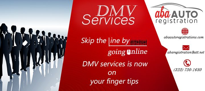 Every time one buys a new vehicle, the first thing they need to do is auto registration. Being an important element of DMV services, registration service is very important and is a legal proof that a vehicle has the permission to be driven on the public roads. Irrespective of the type of vehicle one buys, getting it registered can't be skipped.You can skip long line if you are associate with our ABA Auto Registration.You will get more benfits in our services.