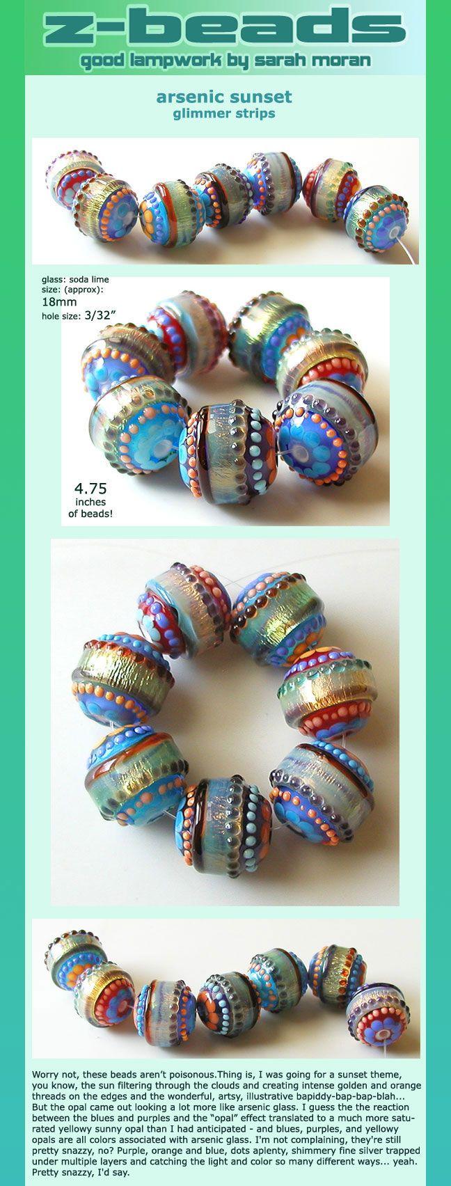 lampwork beadsbeaded jewelrybead