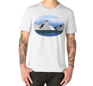 Mitre peak Milford Sound NZ tshirt