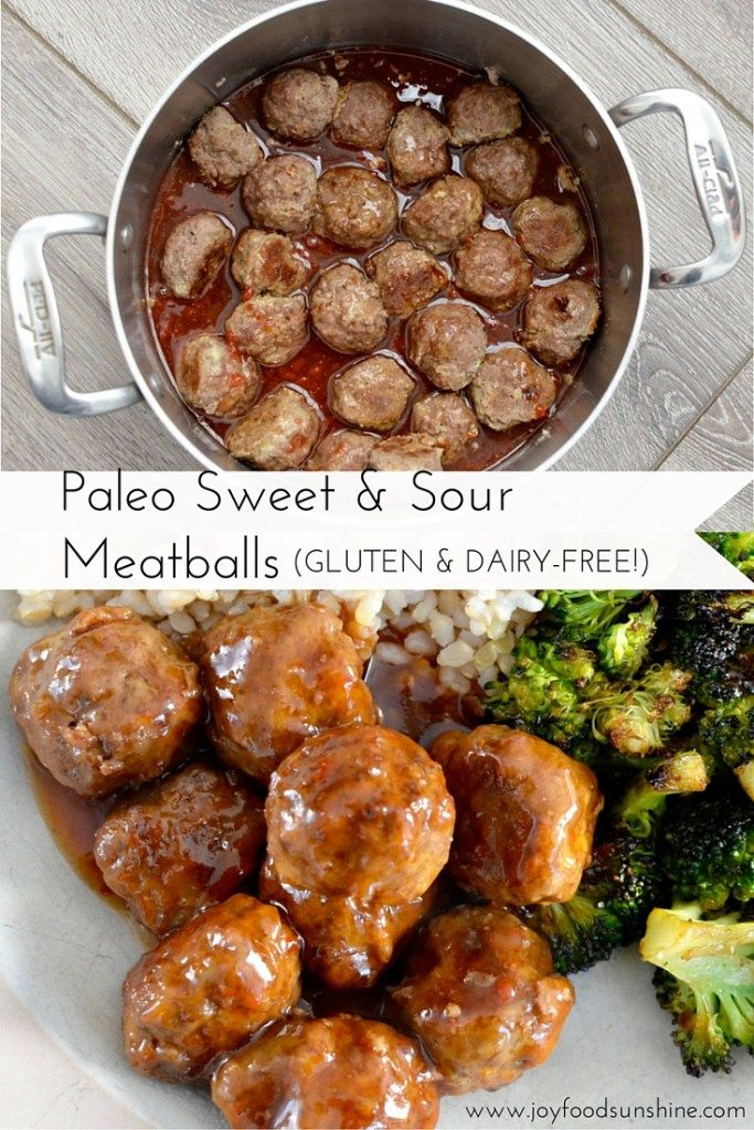 Paleo Sweet And Sour Meatballs Recipe Ready In Less Than 30 Minutes These