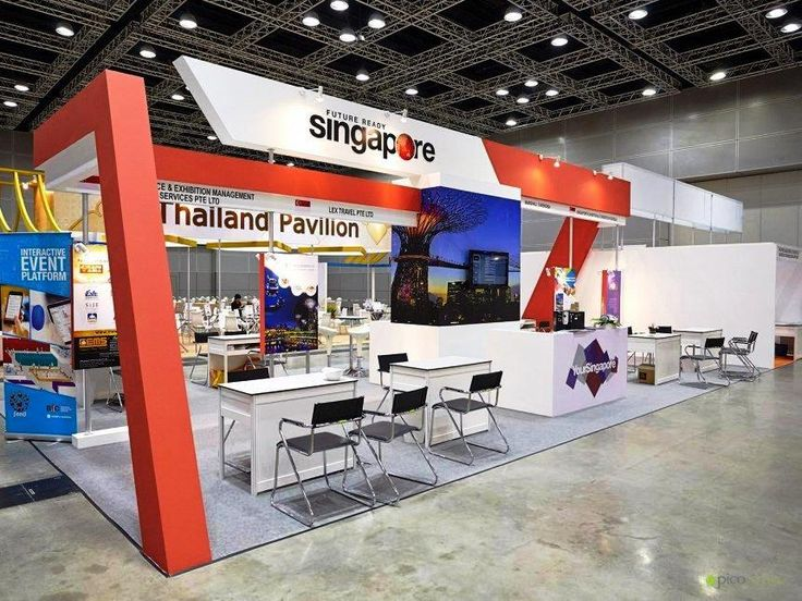Exhibition Booth Number : Pico helped activate a number of booths for clients from