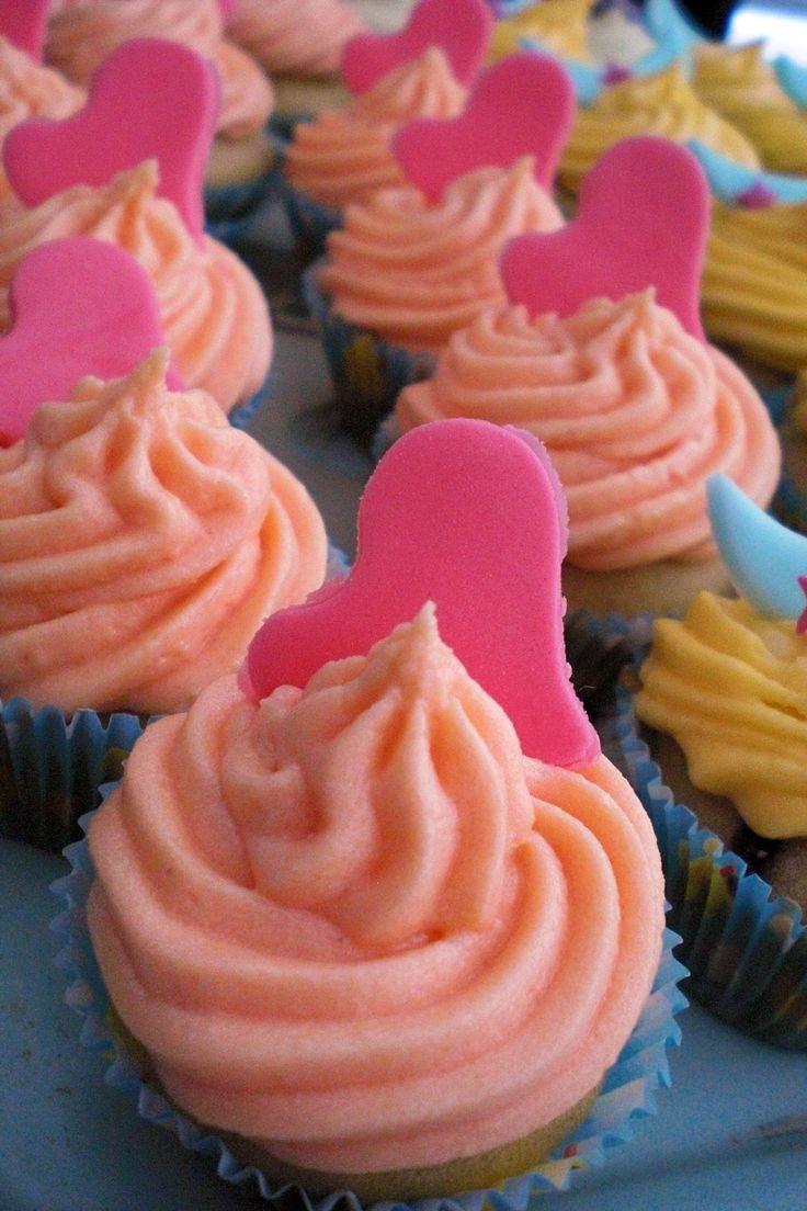 Passion fruit  vegan cupcake