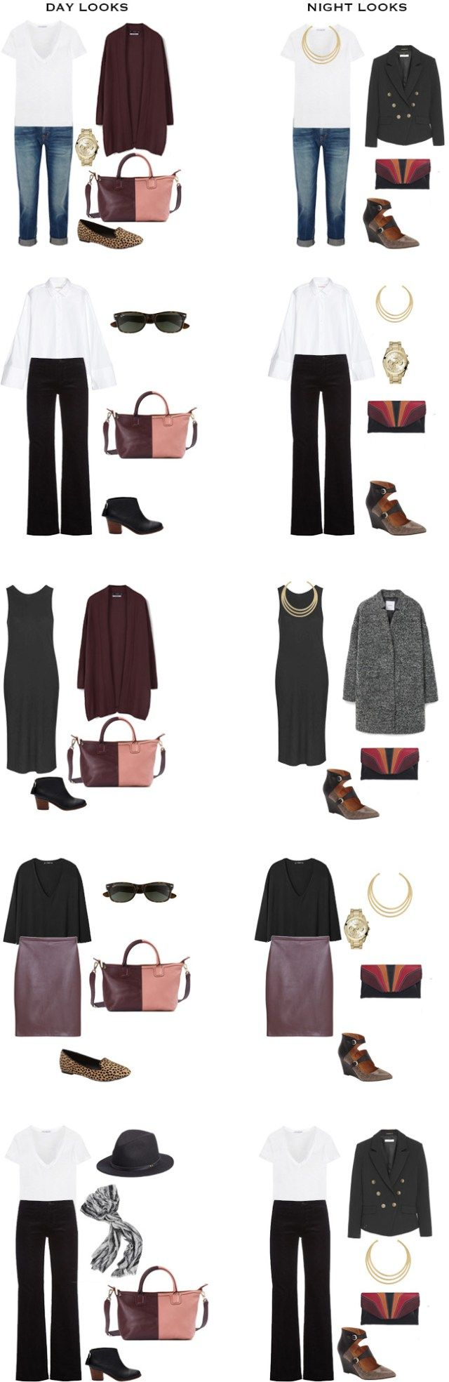 What to Wear for a Business Trip Outfits 1-10 #travel #traveltips #packinglight #travellight
