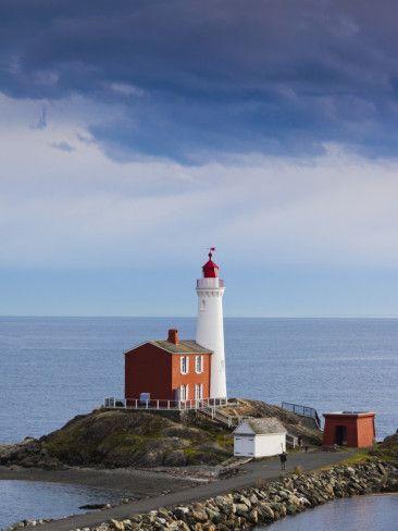 Fisgard Lighthouse - Vancouver Island, Victoria, BC, Canada