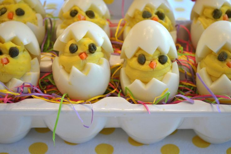 1000 images about easter on pinterest easter decor for Table 52 deviled eggs recipe