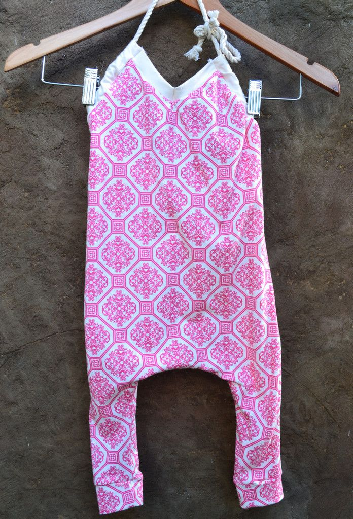 Pink Lady Haulter overalls